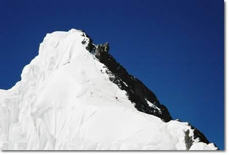 La falsa cumbre del Broad Peak