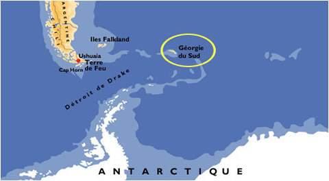 Georgia Del Sur Mapa.Travesia De La Isla Georgia Del Sur Montanismo Y Exploracion