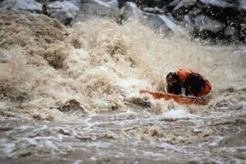 Mike Horn en el Amazonas
