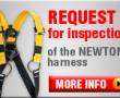 Arnés Newton: aviso para inspección