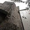 Otro muro casi natural de escalada. Junto, está uno de los dos muros de escalada de velocidad. Foto: Carlos Rangel