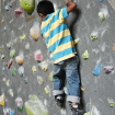 También los niños tienen cabida en el muro. Foto: Carlos Rangel
