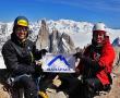 Vía Russo, nueva ruta rusa en la Aguja Poincenot, Patagonia