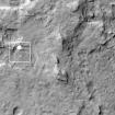 El Curiosity descendiendo con paracaídas hacia la superficie marciana. Foto: NASA