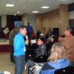 Carlos Soria escucha las preguntas del público. Foto: Inkafest