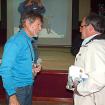 Durante la presentación apareció un antiguo amigo de Carlos Soria. Foto: Inkafest