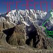 La Arista Mazeno vista desde el sur. Se aprecian los campamentos hasta el 13 de julio y la ruta de descenso de Cathy y los sherpas. Fotos, cortesía de www.mazenoridge.com