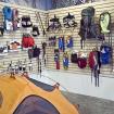 Vista de la tienda dentro de Pirqa.  Foto: Carlos Rangel