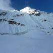 Cara sur del Nevado Pisco. Foto: Eric Albino