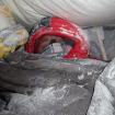 Durante el ascenso invernal al Gasherbrum 1, 2012