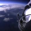 La cápsula Red Bull Stratos a 39 kilómetros de altura