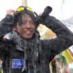 Kuriki en el Everest. Foto cortesía de su sitio web