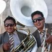 Músicos durante una fiesta en Mancos. Foto: Carlos Rangel