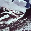 El trazo de la nueva vía en el Nevado Chicón: Gol de Borja. Foto: Jorge Gálvez.