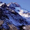 La nueva ruta en el Nevado sin Nombre.  Foto: Jorge Gálvez.