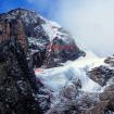 La nueva ruta intentada en el Nevado Pumahuanca. Foto: Jorge Gálvez.