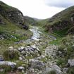 Inicia el gigantesco valle (30 km) para descender hacia Huanuco Marca. Foto: Sergio Ramírez Carrascal