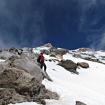 Compartiendo el descenso por la cara sur del Volcán