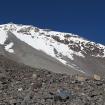 Lado Sur visto desde el refugio Fausto González (4,630 metros). Foto: Ricardo Constante