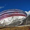 Practicando parapente en el Himalaya. Foto: David Liaño.