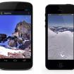 Google Maps también se puede ver en dispositivos móviles