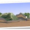 El exterior: una montaña vista por dentro