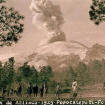 foto: Popocatépetl en 1925. Foto: Catre