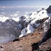 El cráter del Popocatépetl visto desde el labio superior. Foto: Jaime Abundis