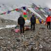 El Campo Base del K2.