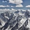 Las montañas del Karakorum desde el K2