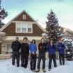 Viaje de entrenamiento a Ouray, Colorado. De izq. A derecha, Diego E. Wynter, Fernando Varela, Carlos Petersen, Pedro L. Corcuera, Santiago Jaime, Eduardo Ibañez. 2010