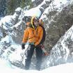 Diego E. Wynter entrenando en Ouray, Colorado 2010
