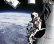 Baumgartner rompe la barrera del sonido en caída libre