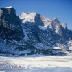 Monte Odín, el más alto de Baffin, estará en el camino de Max. Foto: Wikimedia Commons