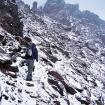 Rumbo a la cumbre del Nevado de Toluca