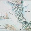 Mapa general de la zona. Fitz Roy y el grupo del Cerro Torre.
