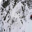 Durante la travesía invernal de los Montes Tatra. Fotos? Mišo Sabovčík y Adam Kadlečík