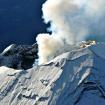 Vuelo de reconocimiento del Popocatépetl. Foto: Ramón Espinasa