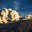Erupción. Foto: Erik Gomez Tochimani