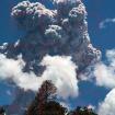 Erupción.