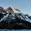 El Broad Peak, visto desde el Campo Base del K2