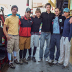 Perú 2008. 1a Expedición de la Línea Directa como grupo. De izquierda a derecha, Santiago Jaime, Daniel Araiza, Eduardo Ibañez, Pedro L. Corcuera,  Diego E. Wynter, José Vega