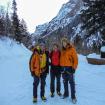 Viaje de entrenamiento a Ouray, Colorado. Compartiendo el inicio de la ruta con Steve House. 2010